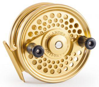 Gold Islander ARMR2 Mooching Reel