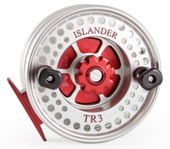 Red Islander TR3 Mooching Reel Front
