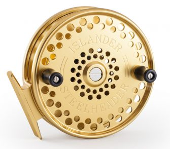 Gold Islander Steelheader Centerpin Float Reel