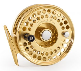 Gold Islander LX 3.4 Fly Reel