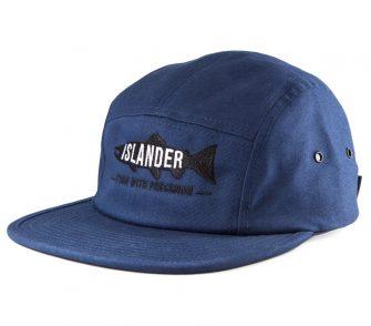 Navy Islander Camper Hat