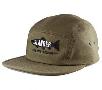 Olive Islander Camper Hat