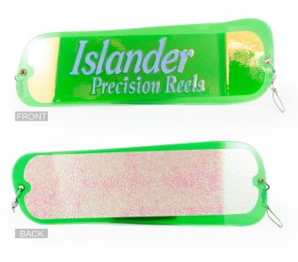 Green Mirror Gibbs Delta Islander Highliner Flasher