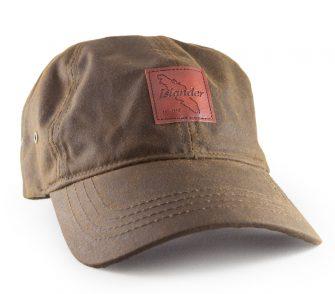 Brown Oilskin Hat