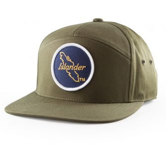 Islander 7 Panel Hat Loden Green