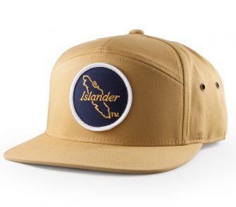 Islander 7 Panel Hat Biscuit Yellow