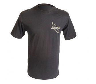 Black Islander Logo T Shirt Front
