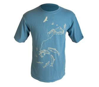 Pacific Salmon Foundation T Shirt Ellie Rubincam
