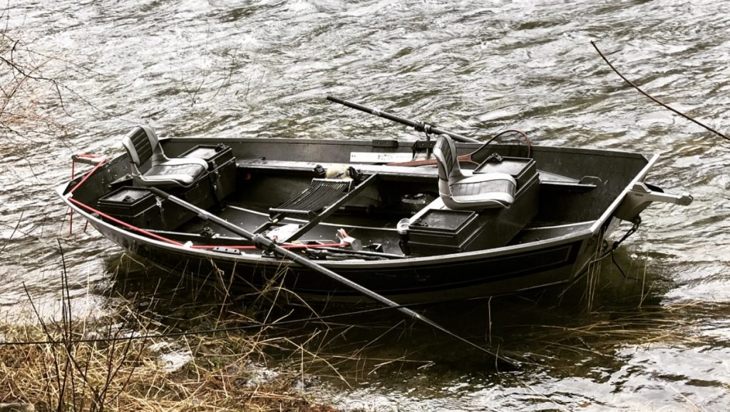 Winter Steelhead Drift Boat