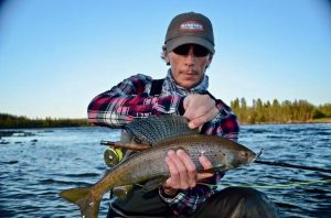 Northwest Territories grayling fly fishing