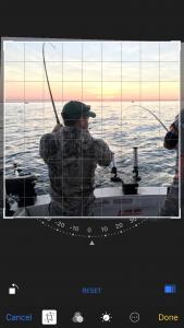Horizon Leveling Photo Edit