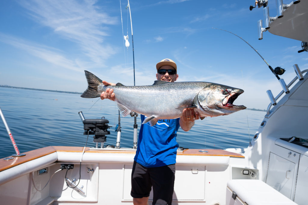 West Goes East: Pacific Salmon Fishing in Lake Ontario